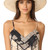 Kate Spade New York Sunhat With Pom-Poms - Black