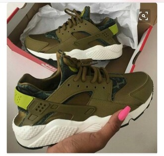 shoes olive green hurraches nike hurraches