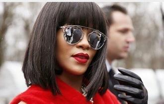 sunglasses dior aviator sunglasses silver dupe mirrored sunglasses sunnies glasses rihanna rihanna style celebrity style celebrity celebstyle for less accessories accessory style fashion
