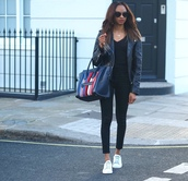 symphony of silk,blogger,jacket,jeans,bag