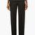 maison martin margiela black low waist pleated trousers