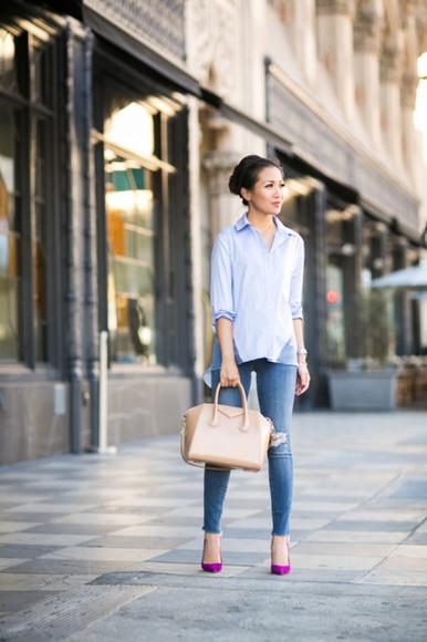 wendy's lookbook blogger top bag jewels