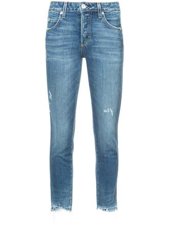 jeans women spandex babe cotton blue