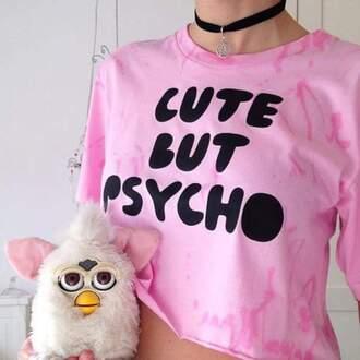 shirt pink tie dye crop tops light pink tie shirt