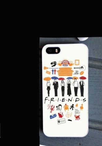 phone cover friends friends tv-show iphone iphone case iphone 6 case ross geller joey tribbianey monica geller pheobe buffay courtney cox white color/pattern colorful quote on it cartoo chandler bing