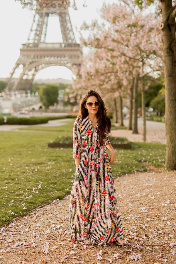 f7e561341ce8 dress tumblr maxi dress floral maxi dress floral floral dress long sleeves  long sleeve dress