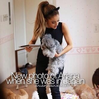 blouse ariana grande hair accessory