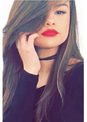 top selena gomez choker necklace snapchat jewels jewelry necklace black choker black celebrity style celebstyle for less celebrity