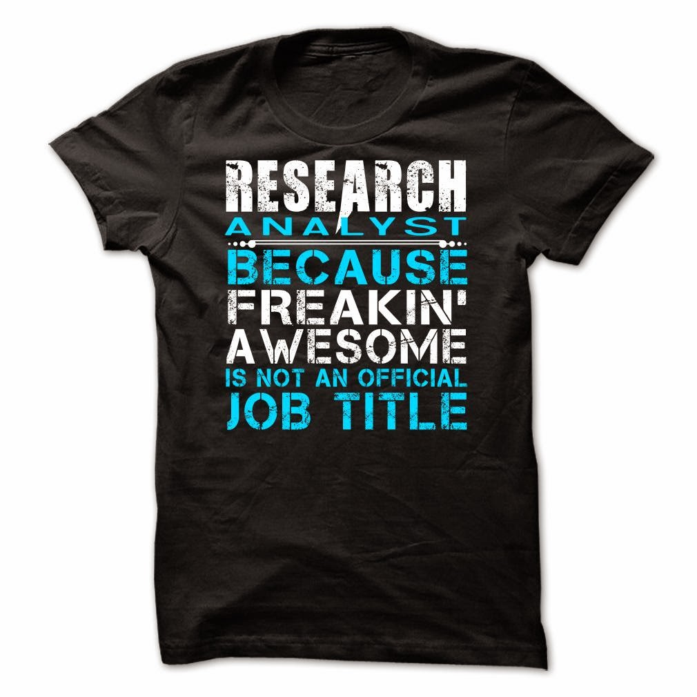Research Analyst T-Shirt & Hoodie