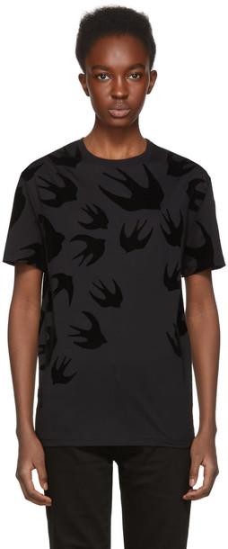 McQ Alexander McQueen t-shirt shirt t-shirt black top
