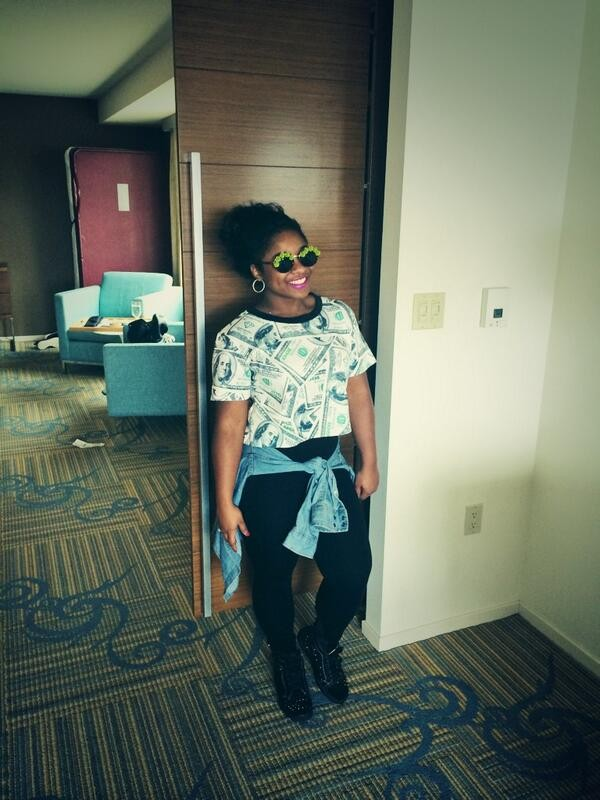 blouse reginae carter colormenae leggings shoes