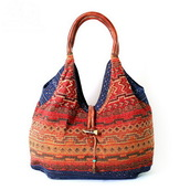 bag,tote bag,shoulder bag,pattern,multicolor,summer bag