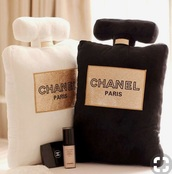 home accessory,chanel,chanel pillow,pillow