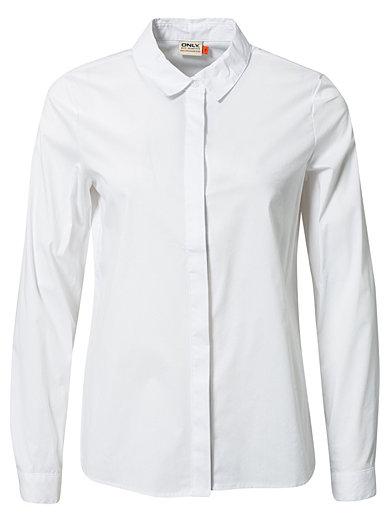 Kaya Ls Shirt - Only - Hvit - Bluser & Skjorter - Klær - Kvinne - Nelly.com