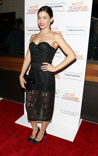 dress gown bustier bustier dress strapless black jenna dewan