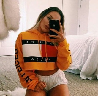 sweater fashion killa cropped sweater