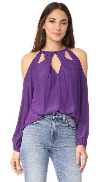tank top fashion clothes shopbop amanda blouse