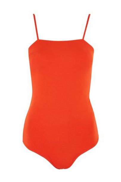 Topshop body red underwear