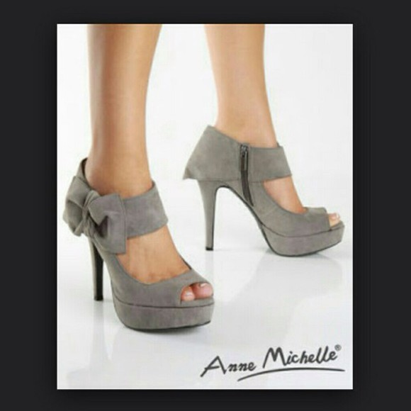 high heels peep toe anne michelle