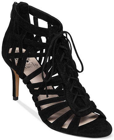 Vince Camuto Nonzia Lace Up Sandals - Shoes - Macy's