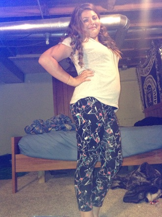 leggings style clothes printed leggings grey aztec legging jean pant black fashion pink blue diamonds illuminati