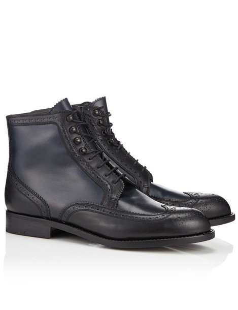 Robert Clergerie boots leather black black leather