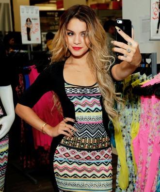 vanessa hudgens patterned dress selfie iphone case dress