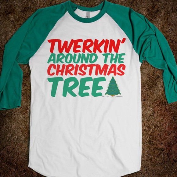 gift christmas shirt twerk long sleeve tshirt twerkin for a birkin