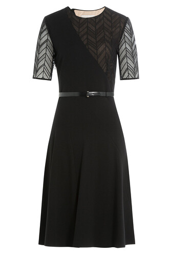 short belt lace black