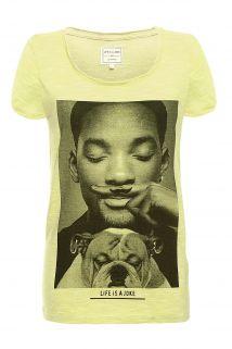 t-shirts moustache femme - Eleven Paris
