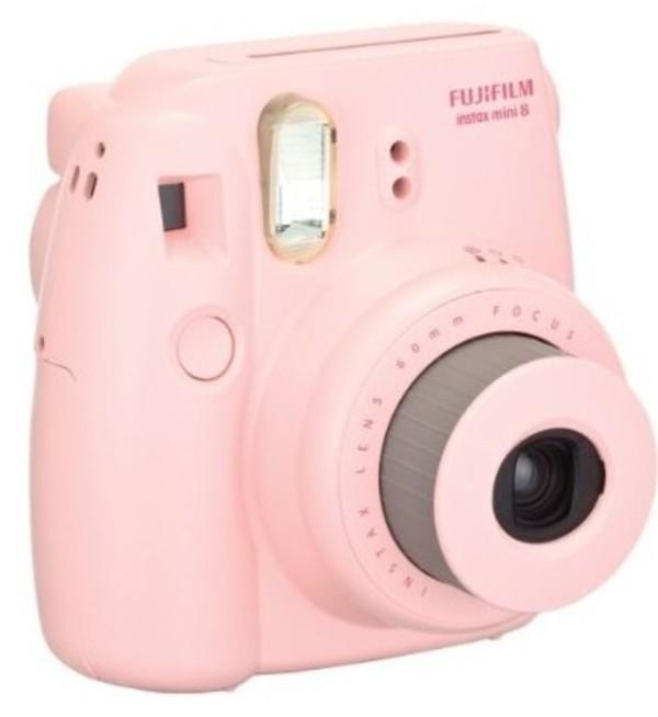 bag pink polaroid