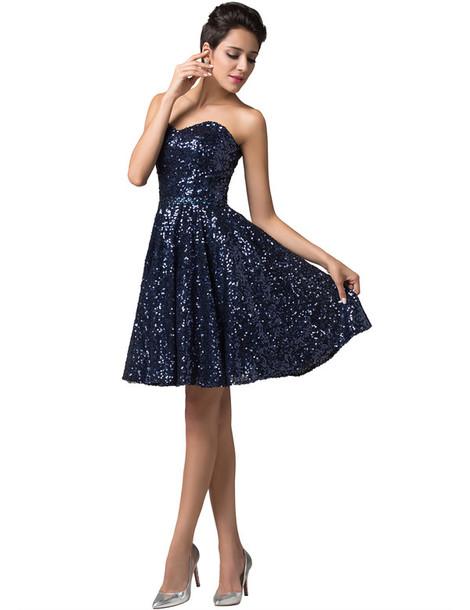Dress Cutebluedress Little Black Dress Sweetheart Neckline Sexy