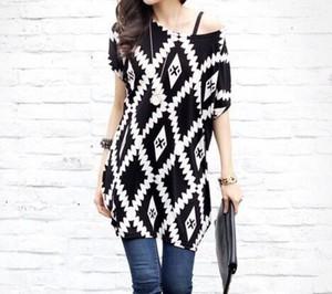 cute aztec blouse top clothes t-shirt girly fashion kawaii fall outfits