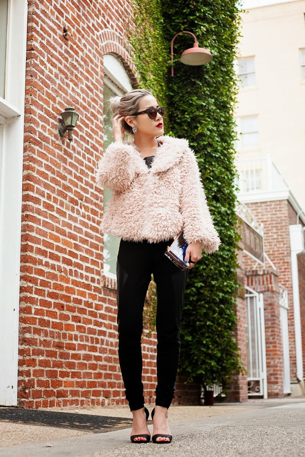 feral creature sunglasses coat bag shoes pants