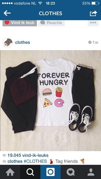 shirt food food clothing t-shirt