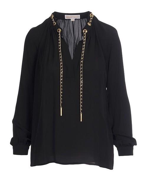 Michael Kors shirt black top