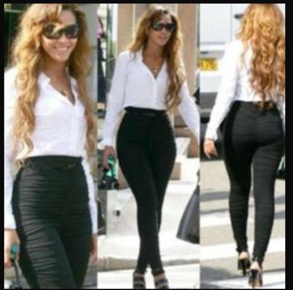 Jeans Black Black Jeans Beyonce Wheretoget