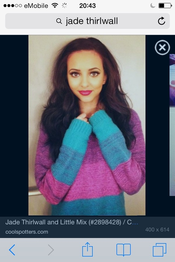 sweater jade thirlwall