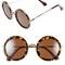 A.j. morgan 'clique' 50mm round sunglasses | nordstrom
