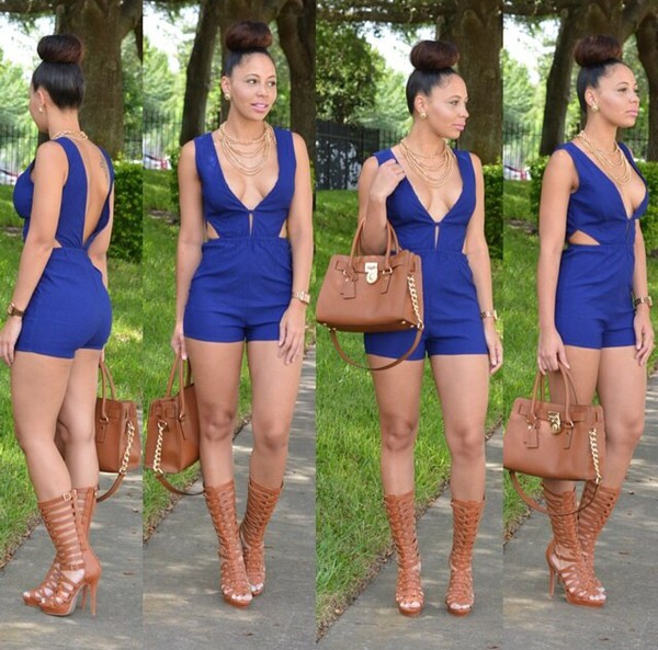 bag romper shoes
