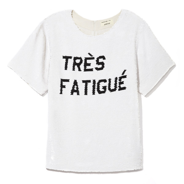 Ashish Tres Fatigue Tee
