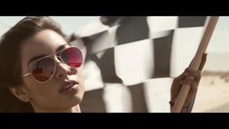 sunglasses red aviator sunglasses calvin harris