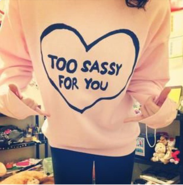sweater sassy