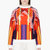 peter pilotto purple neoprene orchid beam sweatshirt