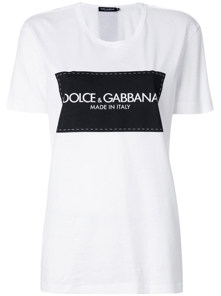Dolce & Gabbana t-shirt shirt t-shirt women white cotton top