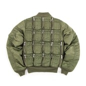 jacket,military style,bomber jacket,khaki bomber jacket,green jacket