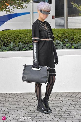 japanese streets blogger gloves alexander wang cosplay japanese japan japanese fashion