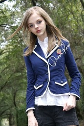 jacket,dakotakoti,dakota rose,kotakoti,blue jacket,blazer