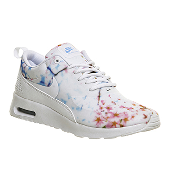 watch 403e6 3a598 Nike Air Max Thea White University Blue Cherry Blossom - Hers trainers