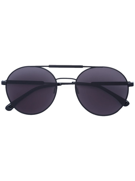 Vera Wang women plastic sunglasses black